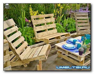 10 примеров оригинальной садовой мебели