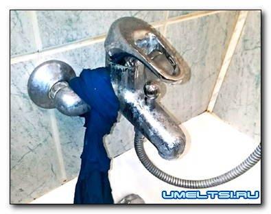 Ремонт и замена крана в ванной своими руками