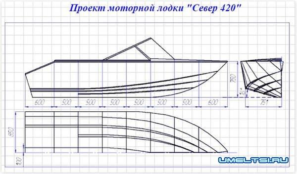 чертежи катера