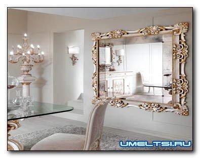 Как купить зеркало под интерьер: 5 примеров преображения квартиры