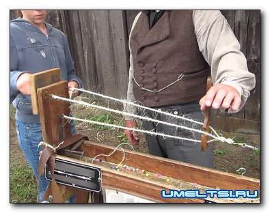 Станок для плетения (витья) веревок