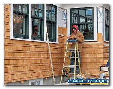 Чем обшить деревянный фасад?
