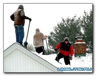 Инструмент для уборки снега своими руками