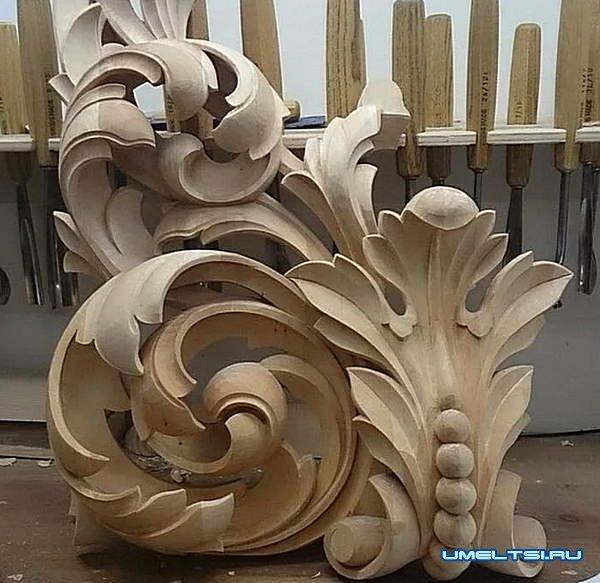 Примеры работ резьбы по дереву