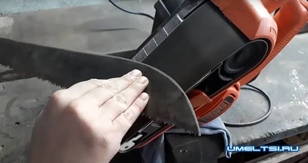 мачете в гаражных условиях своими руками