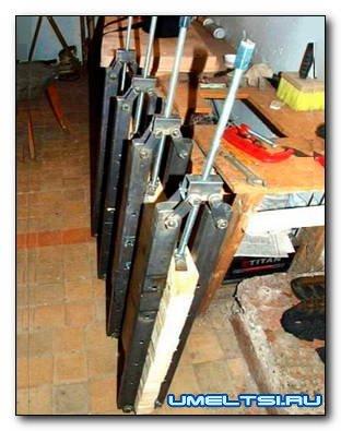 Изготовления струбцин-вайм из профильных труб