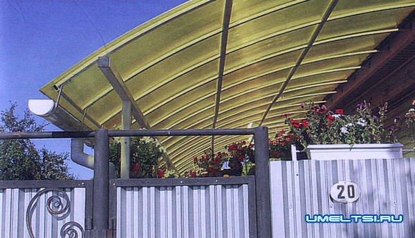 Как построить просторную террасу