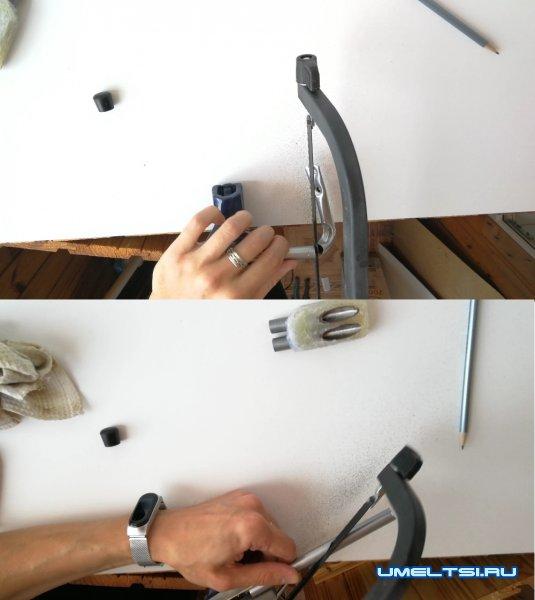 Самодельный Kreg Jig. Кондуктор для соединения косой шуруп