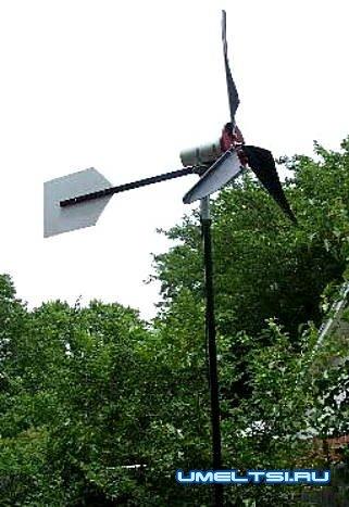 Как сделать ветряк на даче