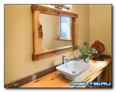 Какими бывают современные зеркала в ванную