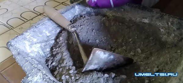 Изготовление бетонной раковины