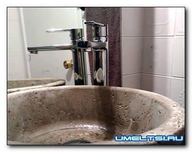 Изготовление бетонной раковины для ванной комнаты