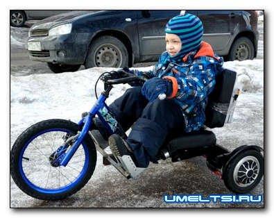 Делаем электротрайк из велосипеда и гироскутера