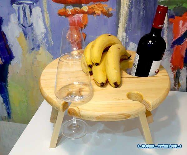 Делаем винный столик