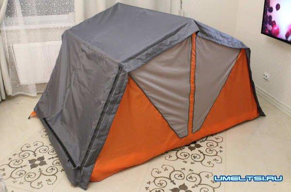 Палатка на крышу автомобиля