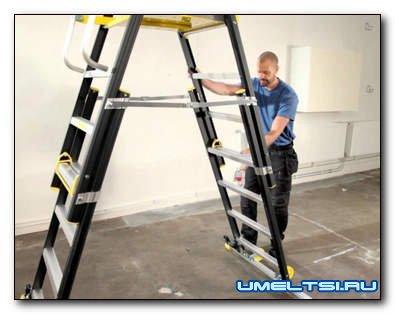 Лестницы-трансформеры и их особенности