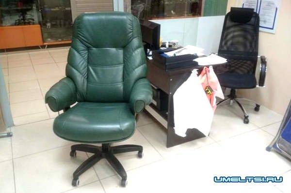 Ремонт и перетяжка офисных кресел