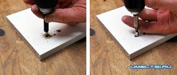Как отремонтировать вырванные петли