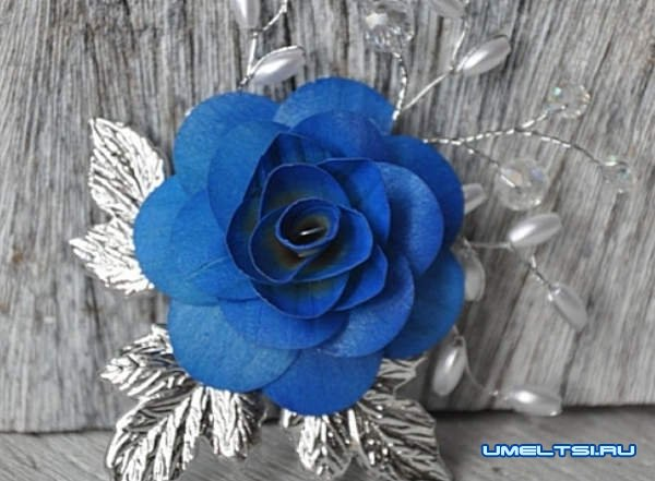 Как сделать розу из дерева