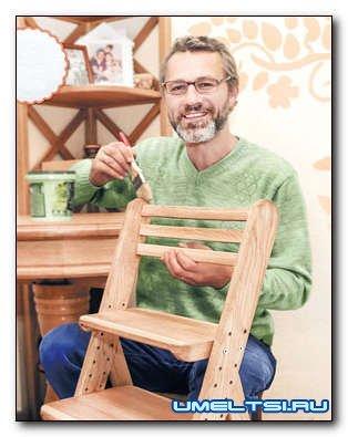 Делаем стульчик на вырост своими руками
