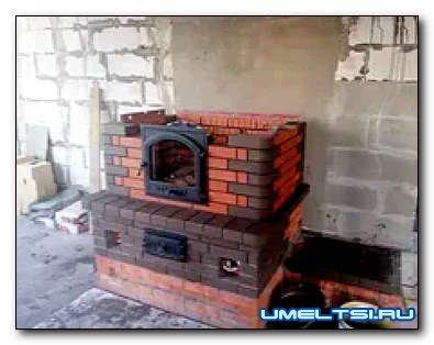 Печь для бани: разборная конструкция (чертежи)