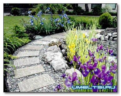 Гравийный сад: технология построения, преимущества