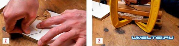 Ремонт и реставрация деталей мебели из ДСП