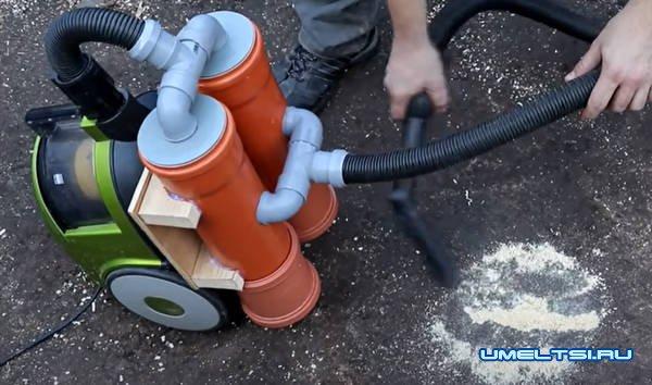 Делаем циклон для пылесоса