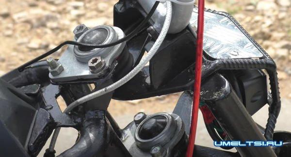 Мини - мотоцикл своими руками