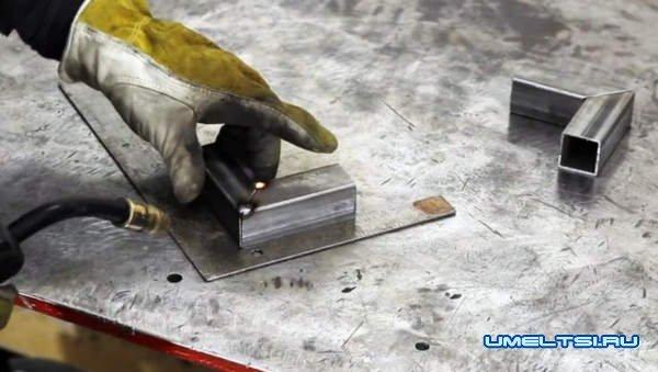 Поэтапная работа над изготовлением струбцины