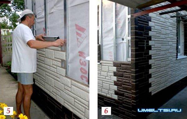 Утепление и отделка стен сайдингом